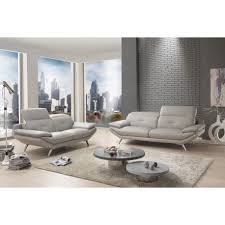 matière canapé canapé moderne bi matière microfibre et cuir têtières
