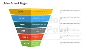 sales funnel template powerpoint free download sales funnel stages