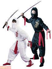Kids Ninja Halloween Costume Boys Ninja Ebay
