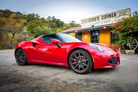 cartoon sports car side view 2017 alfa romeo 4c spider it u0027s italian for lust