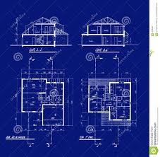 Blueprint For Houses by House Blueprints Royalty Free Stock Photography Image 4506487
