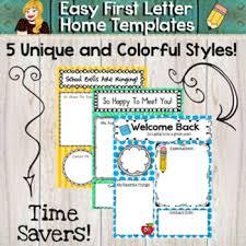 teacher letter home by the whimsical teacher teachers pay teachers