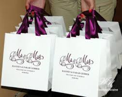 personalized wedding gift bags custom wedding bags etsy
