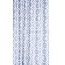 Rainforest Shower Curtain - grey medallion textile shower curtain croydex
