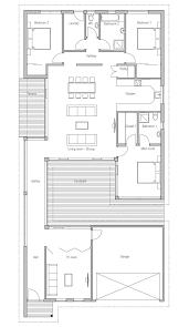 courtyard garage house plans modern house to narrow lot closed courtyard garage three