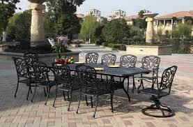 patio ideas cast aluminum patio furniture brands cast aluminum