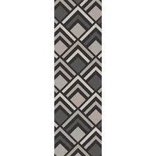 Charcoal Gray Area Rug Williston Forge Harvey Tufted Charcoal Gray Area Rug