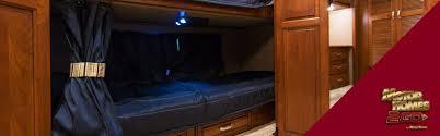 diy camper bunk privacy curtains motorhomes 2 go rv blog