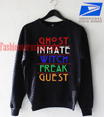 horror story ghost inmate witch freak guest sweatshirt