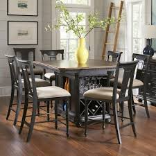 Kitchen Island Table Sets Avalon Furniture Rivington Traditional 7 Kitchen Island