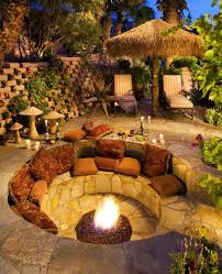 create a cozy and comfortable area in the outdoor living of the