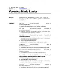 The Best Looking Resume by Examples Of Resumes Acting Resume Example Good Objective In