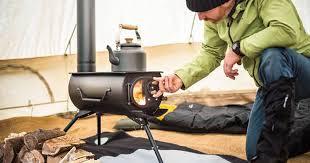 cuisine poele a bois poêle à bois portatif se plie et chauffe tentes yourtes et
