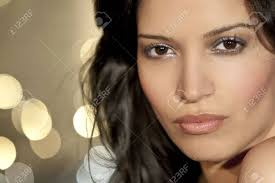stunningly a stunningly beautiful young latina hispanic woman looking sultry