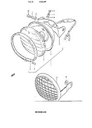 1972 suzuki ts250 savage headlamp parts best oem headlamp parts