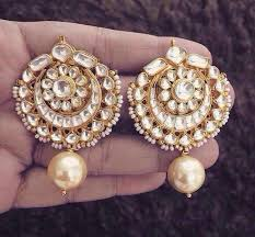 gold earrings for marriage pin by sain on indian jewelry indian jewelry