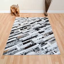 Cowhide Patchwork Rugs In Contemporary Home Decor Modern by Patchwork Cowhide Leather Rugs Roselawnlutheran
