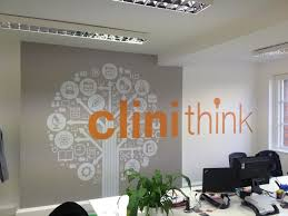 best images about custom wall stickers pinterest vinyls office wall graphics and branding with environmental vinyl impression http