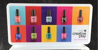 cnd clear creative play nail polish display rack2 jpg