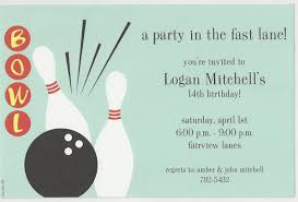 entertaining bowling party invitations party city birthday party