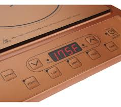 copper chef portable induction burner page 1 u2014 qvc com