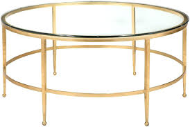 gold leaf coffee table gold glass coffee table round shape steel gold stained gold leaf