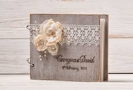 wedding guestbooks 141 best rustic wedding guestbooks images on wedding