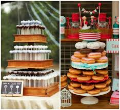 wedding cake alternatives 4 and affordable wedding cake alternatives onewed