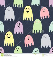 happy halloween cute pictures cute spooky ghosts happy halloween illustration stock vector