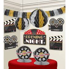 Movie Decorations For Home Interior Design Simple Movie Themed Table Decorations Interior