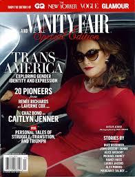 New Vanity Fair Cover Ncte Welcomes Vanity Fair Special Edition U201ctrans America