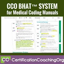 learn about the cco bhat system for medical coding manuals read