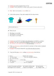 ks3 punctuation teachit english