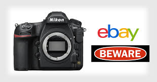 i almost lost a nikon d850 to a scam on ebay