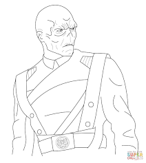 red skull coloring page free printable coloring pages