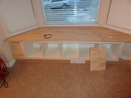 how to build a window seat decoration bay window benches with storage and locker room in