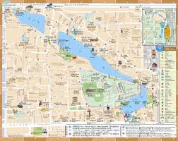 Map A Walking Route by Hutong Tour Route Map Detailed Map Of Hutong Tour