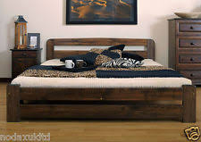 nodax solid pine super king size bedframe 6ft option with 2x
