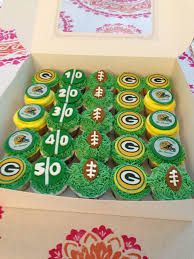 greenbay packers cupcakes homemade cakes by ligny pinterest