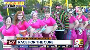 Brighter Pink Colorful Characters Make Cincinnati U0027s Race For The Cure Pink