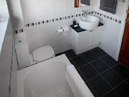 black and white small bathroom ideas mesmerizing black and white bathroom tiles in a small bathroom for