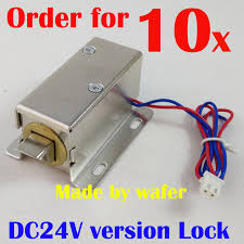 storage cabinet with electronic lock aliexpress com buy 24v genuine small electric plug lock electric
