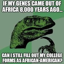 Genes And Memes - philosoraptor meme imgflip