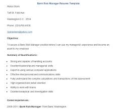 Risk Management Resume Samples by Banking Resume Template U2013 21 Free Samples Examples Format