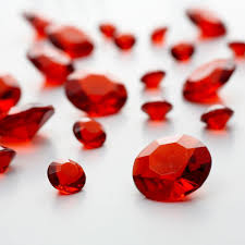 gems for table decorations red diamante table gems large pack 100g gems lover pinterest