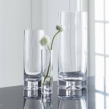 Crystal Glass Vase Direction Simple Glass Vases Crate And Barrel