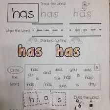 97 best kindergarten word work images on pinterest kindergarten