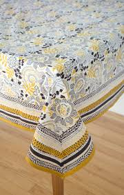Coffee Table Linens by Anokhi Usa Table Linens In Goldenrod