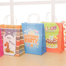 color birthday gift bag happy birthday baby paper gift