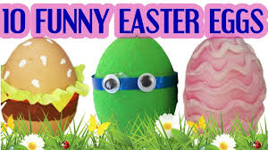 Easter Egg Decorating History by 10 Funny Diy Ways To Decorate Easter Eggs Youtube